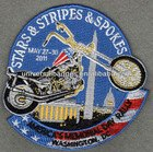 Custom applique embroidery design patches