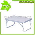 alu folding camping table