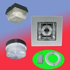 80w modern induction ceiling light