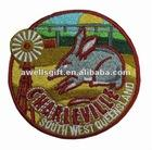 apparel custom embroidered patch