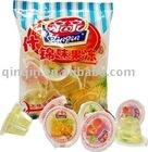 mini jelly sweet 360g fruit jelly cup assorted jelly