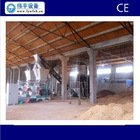 1- 1.5t/hr wood pellets production line for rubber wood, hardwood, soft wood.