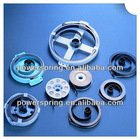 Flat spiral spring for vacuum cleaner