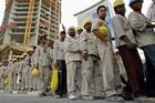 Construction Workers From Bangladesh