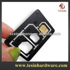 3 in 1 nano and micro sim card adapter