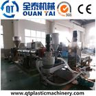 Used plastic recycling production machine