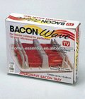 Plastic microwave bacon tray