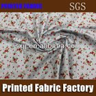 Small floral fabric 100% cotton printed fabric cotton fabric