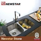 China undermout stainless steel kitchen sink