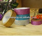 Colorful glitter tape for decoration