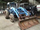 used ISEKI T8000 with front loader high quality Japanese tractor